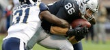 Raiders look for more out of tight ends this season