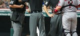 Ump Wendelstedt being treated for concussion-like symptoms