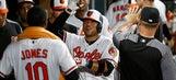 Jones homers twice, Orioles beat Athletics 7-3