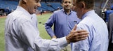 Manfred says Tampa Bay must pick up pace on new stadium