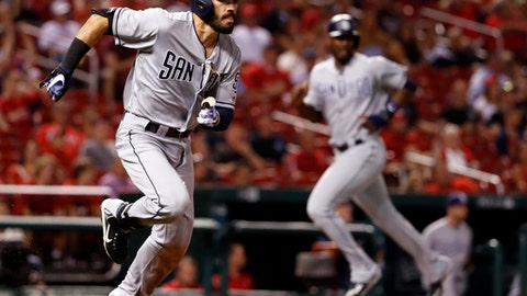 Matt Szczur drives in run in Padres' win over Cardinals