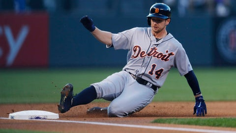 Rockies can't cash in on opportunities, drop series opener to Tigers