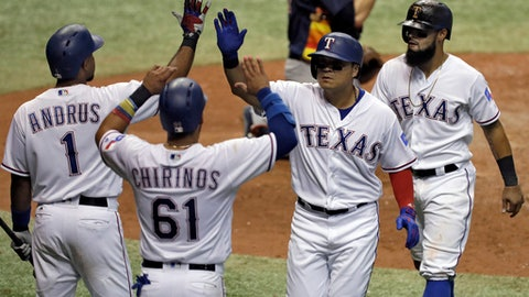 Astros focus on family after 8-1 loss to Rangers