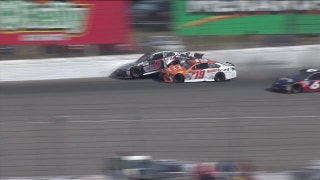Kasey Kahne triggers hard crash with Daniel Suárez at Michigan