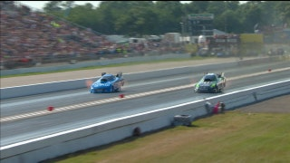 Alexis Dejoria Wins Funny Car Final at Brainerd | 2017 NHRA DRAG RACING
