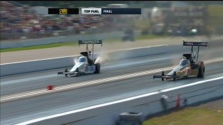 Leah Pritchett wins Top Fuel Final at Brainerd | 2017 NHRA DRAG RACING