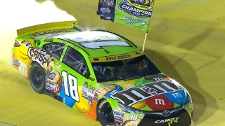 Toyota reaches 100 Cup Series wins with Kyle Busch at Pocono