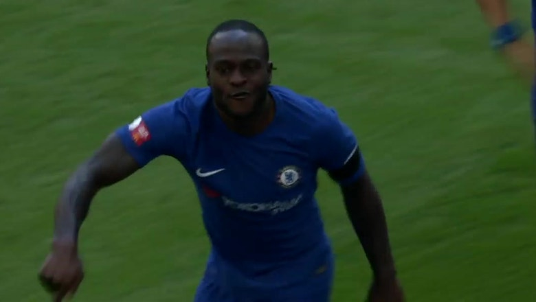 Victor Moses strikes first for Chelsea | 2017 FA Community Shield Highlights