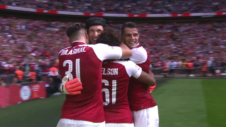 Watch Arsenal rally to win Community Shield against rival Chelsea