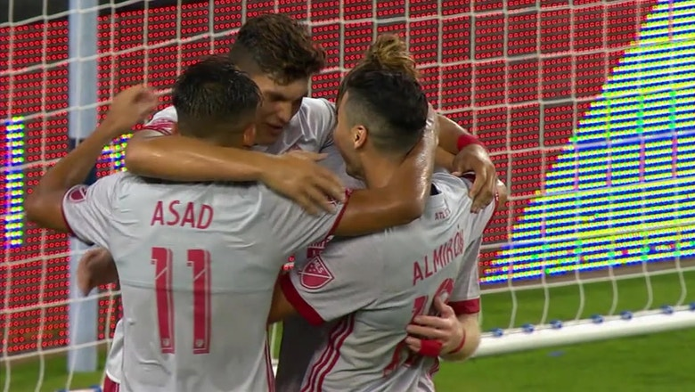 Atlanta United steal a point on the road to tie Sporting Kansas City | 2017 MLS Highlights