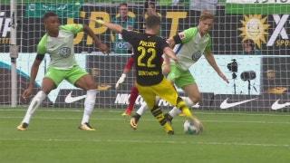 Borussia Dortmund easily handles VfL Wolfsburg in Bundesliga opener