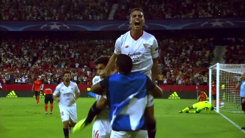 Sevilla vs. Istanbul Basaksehir   2017-18 UEFA Champions League Highlights