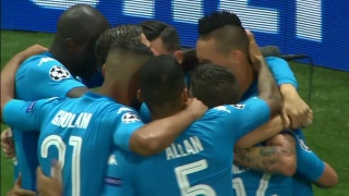 Napoli shut out Nice to book passage to group stage | Champions League Highlights