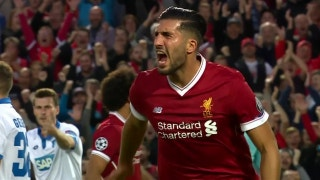Emre Can scores his second goal vs. Hoffenheim | 2017-2018 UEFA Champions League Highlights