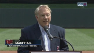 Andy MacPhail inducted into Twins Hall of Fame