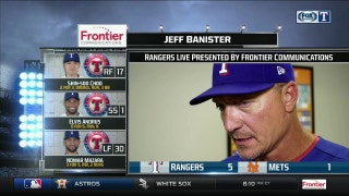 Jeff Banister on Perez: 'The best outing he has had all year'