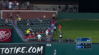 WATCH: Joey Gallo hits solo shot to centerfield in 3rd vs. Detroit