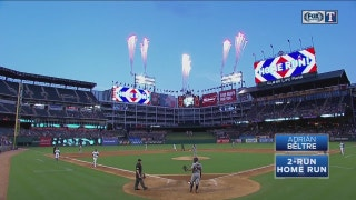 WATCH: Adrian Beltre hits 2-run home run in 3rd vs. Tigers