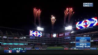 WATCH: Joey Gallo hits 35th home run in 8th vs. Tigers