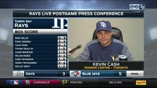 Kevin Cash says he doesn't have a good explanation for today's loss