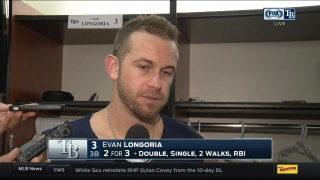 Evan Longoria: 'Losses are definitely tough at this point in the year'