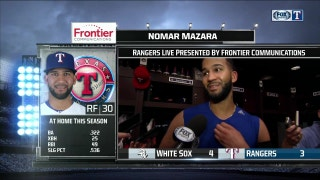 Nomar Mazara: 'I feel fine right now'