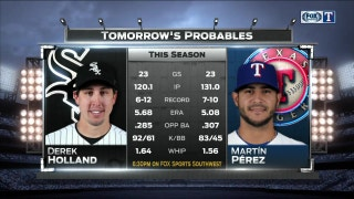 Saturday Pitching | Holland vs. Perez | Rangers Live