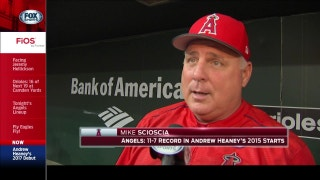 Scioscia on Heaney's return: His comeback is incredible