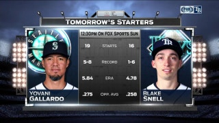 Blake Snell looks for 2nd straight win in finale vs. Mariners
