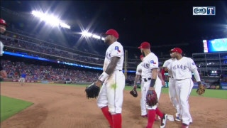Rangers bats come alive in 17-7 offensive night