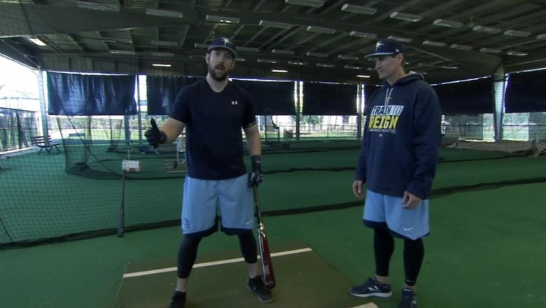 Tampa Bay Rays demo: Steven Souza Jr.'s batting stance
