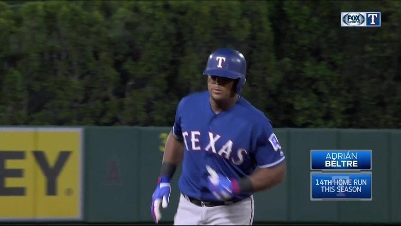 WATCH: Adrian Beltre hits 3-run home run in 3rd vs. Angels