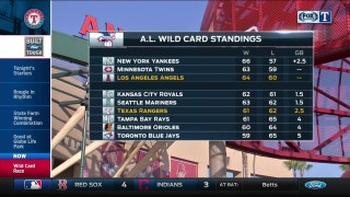 Making up ground | Wildcard standings | Rangers Live