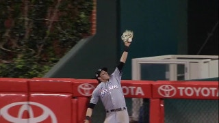 Who caught it best? Yelich, Stanton each make case with spectacular grabs