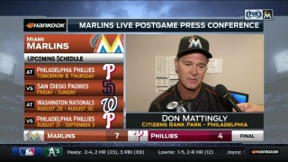 Don Mattingly on the importance of sweeping doubleheader