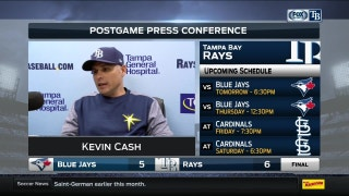 Kevin Cash: 'Two in a row. We haven't said that in a while.'