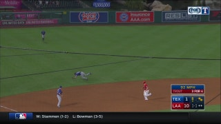 WATCH: Drew Robinson makes driving catch in 8th vs. Angels