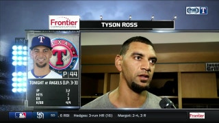 Tyson Ross: 'I threw a lot of pitches out there'