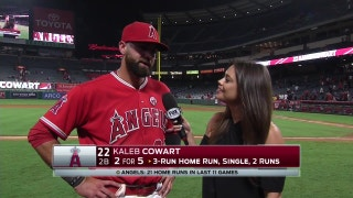 Kaleb Cowart starting to feel comfortable with consistency in lineup
