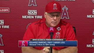 Angels unable to mount comeback late, lose 7-5 in 10 innings