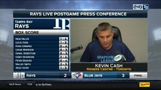 Kevin Cash says Rays weren't able to capitalize against Blue Jays