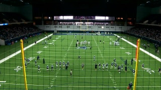First time the Dallas Cowboys practiced at home