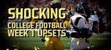 Shocking college football opening week upsets