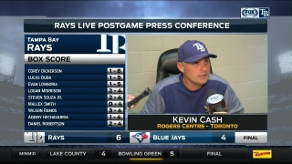Kevin Cash says Blake Snell turned in his best start of the year