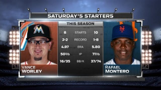 Vance Worley gets the nod as Marlins look for 3rd straight W