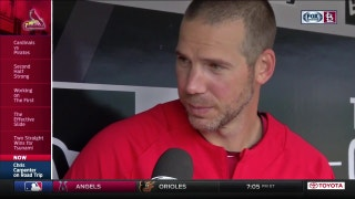 Chris Carpenter on being back in the Cardinals' dugout