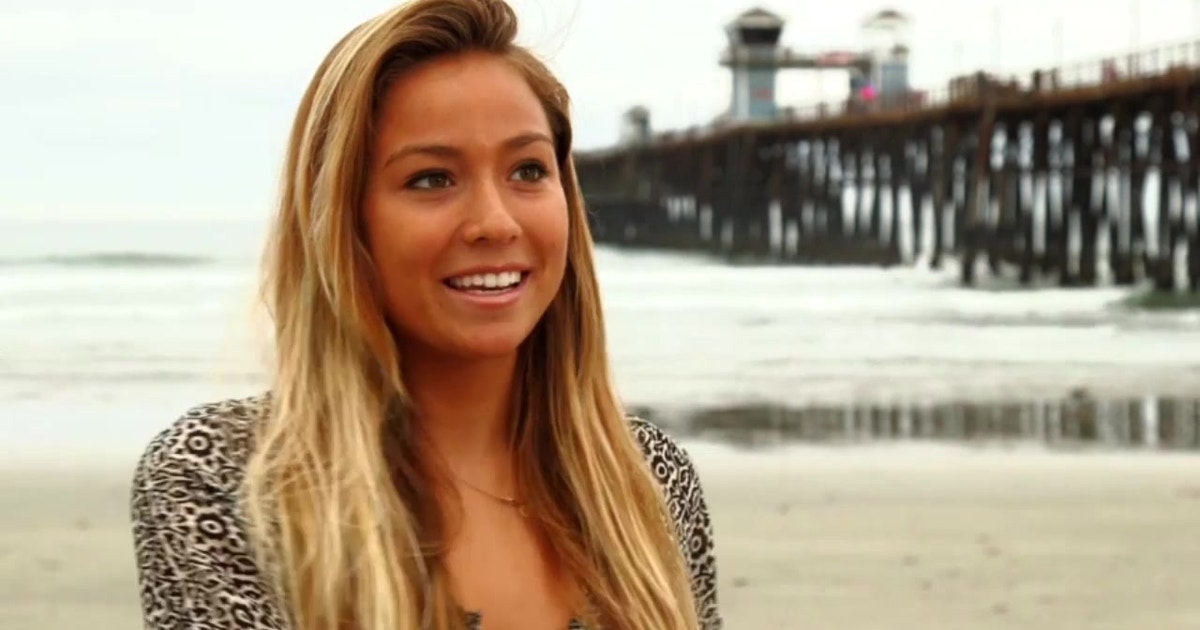 After A Childhood On The Move Pro Surfer Tia Blanco Calls