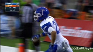 Temple touchdown on amazing juggling catch - Texas Football Days Classics