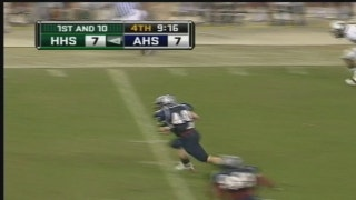 Allen Eagles take Pick 6 to the House - Texas Football Days Classics