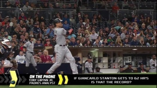 Would 62 home runs make Giancarlo Stanton the true home run king?